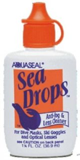 McNett Sea Drops Anti-Fog & Lens Cleaner, (1.25 oz)