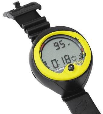 Oceanic veo 100 nx wrist air nitrox dive computer for Dive computer sale