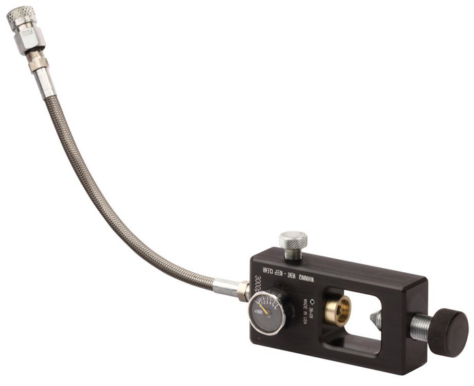 Scuba yoke adaptor for benjamin crosman pcp airguns