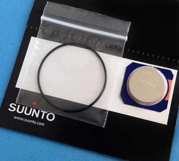 how to change battery in a suunto wrist watch